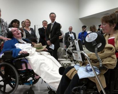 BrainGate research participants visit Providence VA.