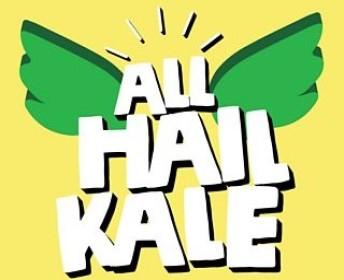 All Hail Kale podcast logo.
